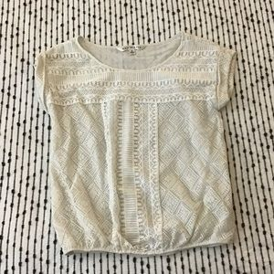 Max Studio Lace top